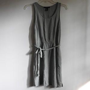 Olive ash green dress